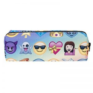 Cute Pencil Case, SEARCHALL Cute little Zipper Cute Creative Design 3D Printed Student Boys Girls School Pencil Case Holder Stationery Cosmetics Organizer Pouch Make up Bag (Design 17) de la marque SEARCHALL image 0 produit